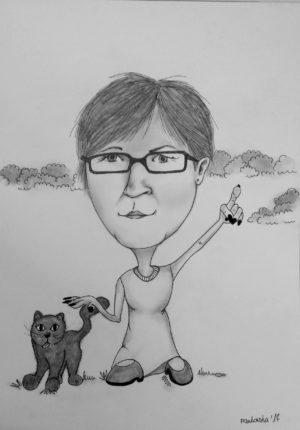 Karykatura nauczyciela