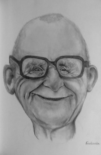 portret babci
