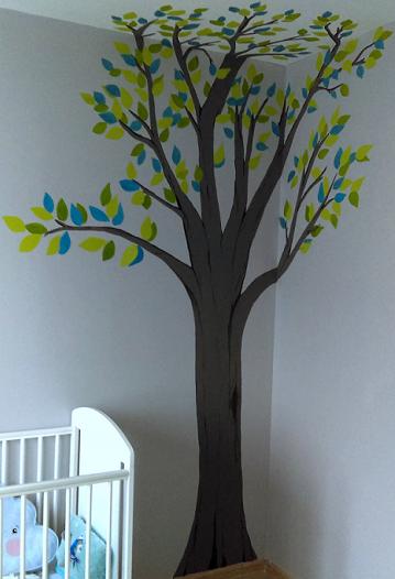 Rysunek w pokoju dziecka