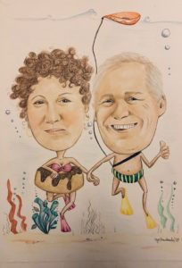Karykatura dla pary