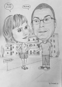 Czarno biały rysunek