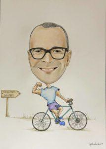 prezent na rowerze